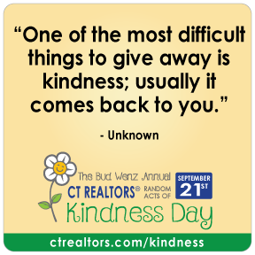 One of the most difficult things to give away is kindness; usually it comes back to you.