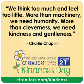 We think too much and feel too little. More than machinery, we need humanity. More than cleverness, we need kindness and gentleness.